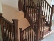 Varnished staircase renovation
